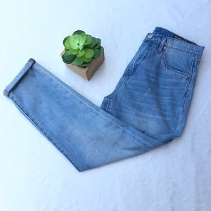 BLANKNYC 29 High Rise Tapered Leg Jeans